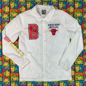🔥 Vintage USA Chicago Bulls Windbreaker